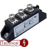 دوبل تریستور 60 آمپر 1600 ولت IXYS MCC56-16IO1B