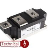 دوبل تریستور 160 آمپر 1600 ولت IXYS MCC162-16IO1B