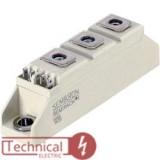 دوبل تریستور 100 آمپر 1600ولت سمیکرون SEMIKRON SKKT106B16