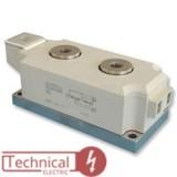 دوبل تریستور 570 آمپر 1600 ولت سمیکرون SEMIKRON SKKT570 /16