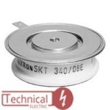 تریستور دیسکی 340 آمپر سمیکرون آلمان SKT340/16 SEMIKRON