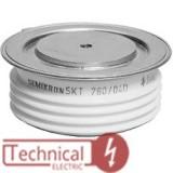 تریستور دیسکی 760 آمپر سمیکرون آلمان SKT760/16 SEMIRKON
