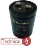 خازن 4700 میکرو فاراد 500 ولت DC ایتالیا KENDEIL کندیل