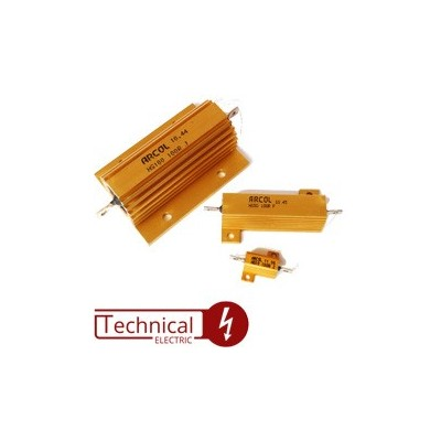 انواع مقاومت 100 وات انگلیس HS100 ARCOL U.K