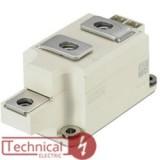 دوبل تریستور 250 آمپر 1600 ولت سمیکرون SEMIKRON SKKT250/16